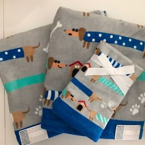 Dachshund Dogs Towel Set